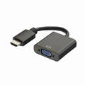 HDMI naar VGA met audio converter